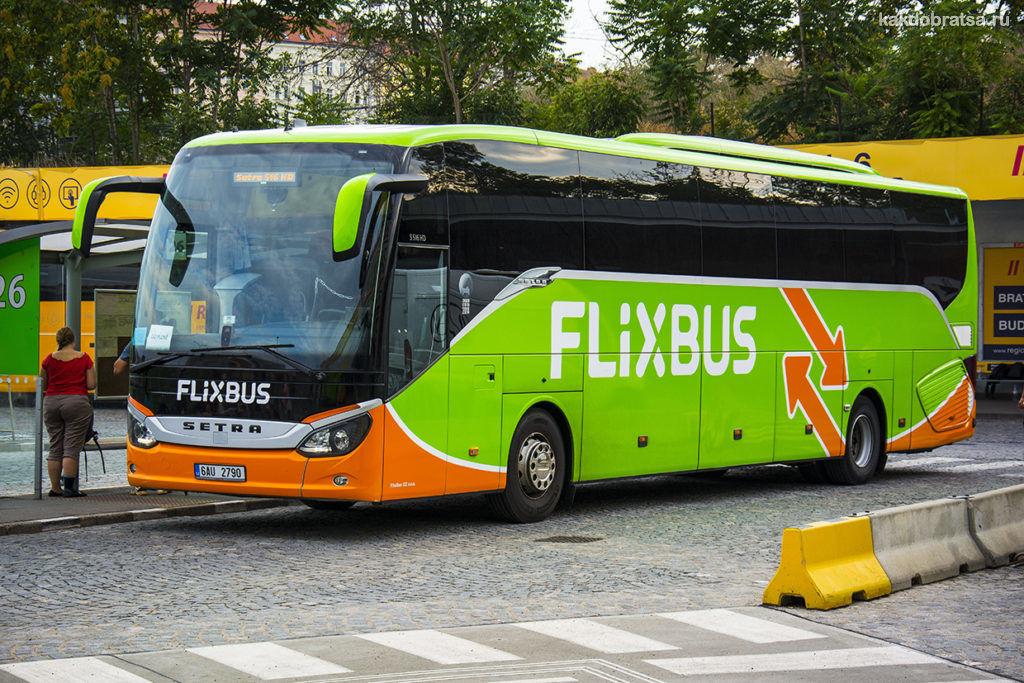 Автобус Прага Париж время в пути стоимость билетов