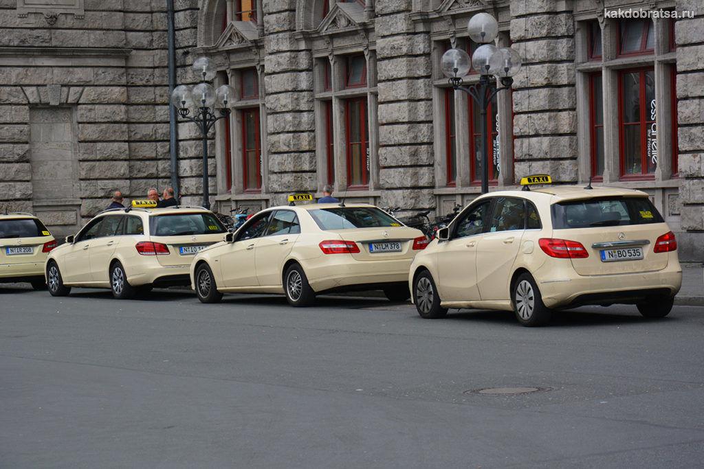 Такси трансфер из аэропорта Мюнхена