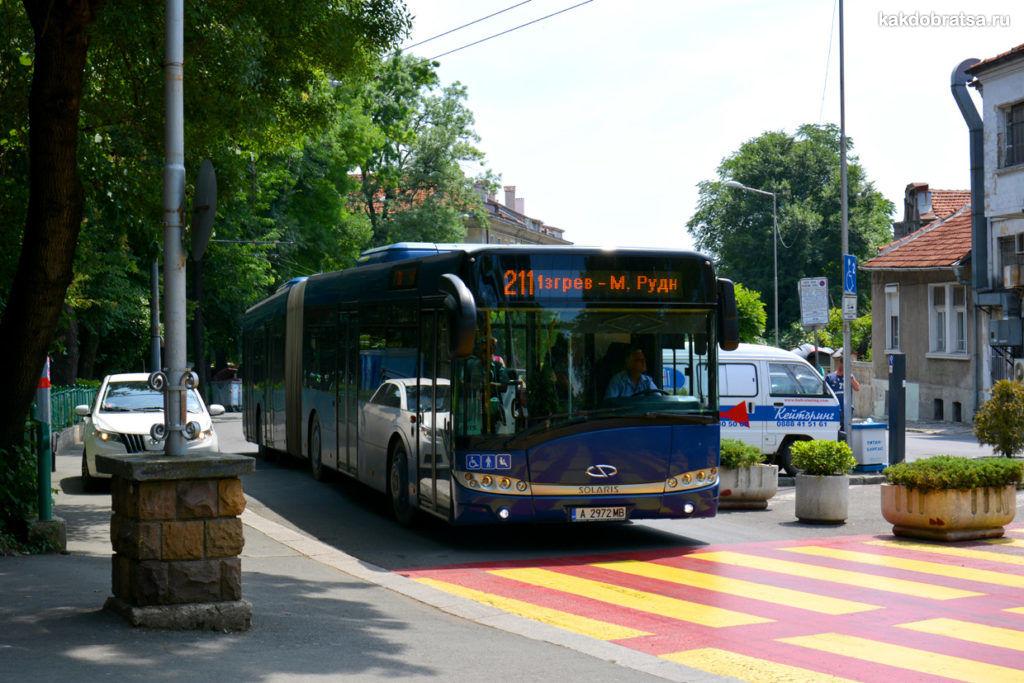 Автобус в Бургасе