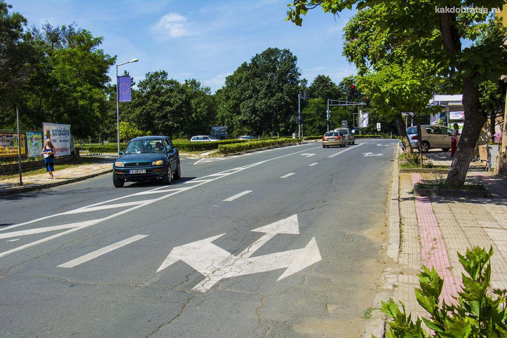 Дороги в Болгарии и правила дорожного движения