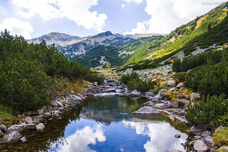 Банско горнолыжный курорт в Болгарии