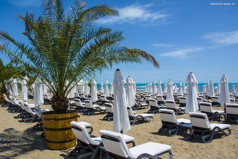Пляж Лозенец красивый элитный