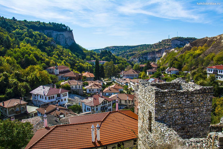 Мелник город в Болгарии где красивее всего