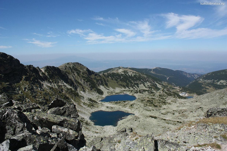 Рильские озера в Болгарии и красивые горы Рила