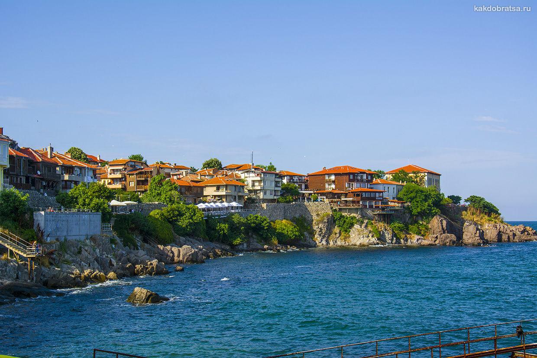 Созополь самый красивый исторический город Болгарии