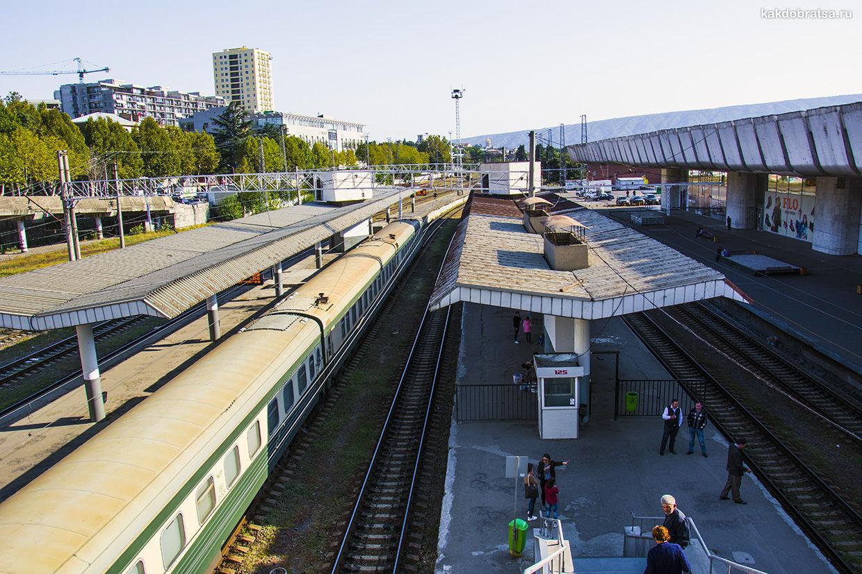 Поезд в Батуми из Тбилиси и Кутаиси