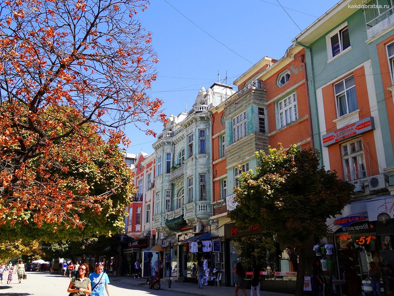 Варна пешеходная улица