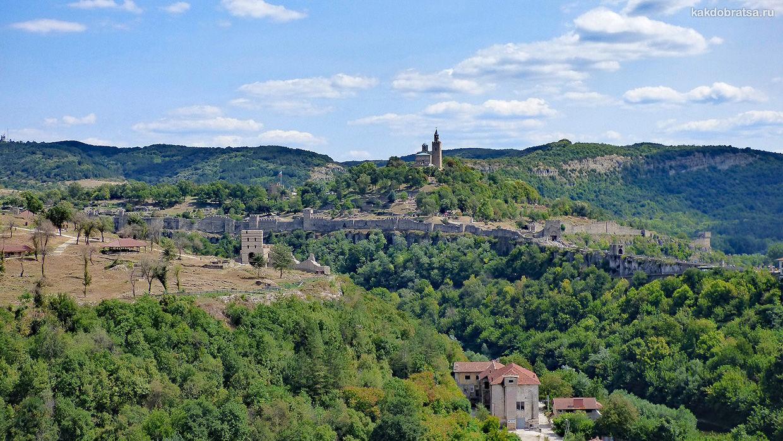 Велико Тырново интересный город и крепость в Болгарии