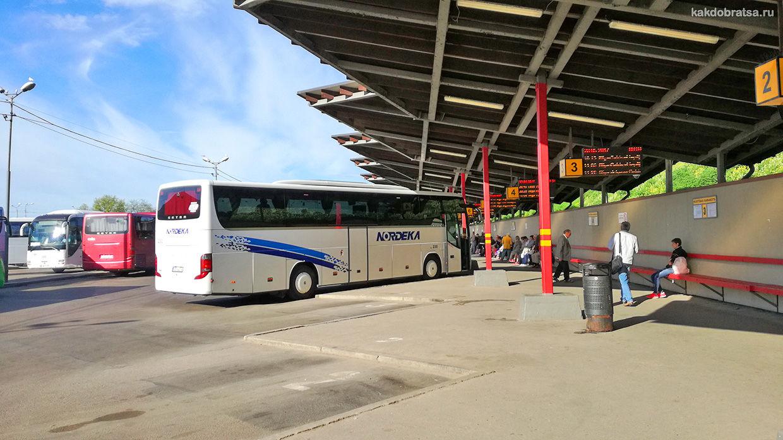 Центральный автовокзал Риги