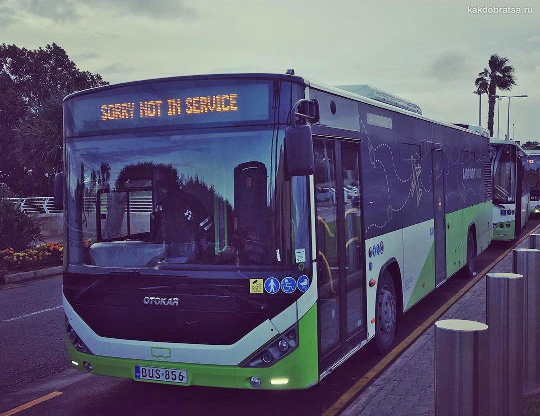 Автобус на Мальте