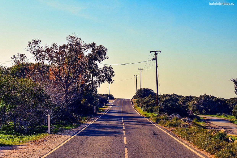 Дороги на Кипре и ПДД