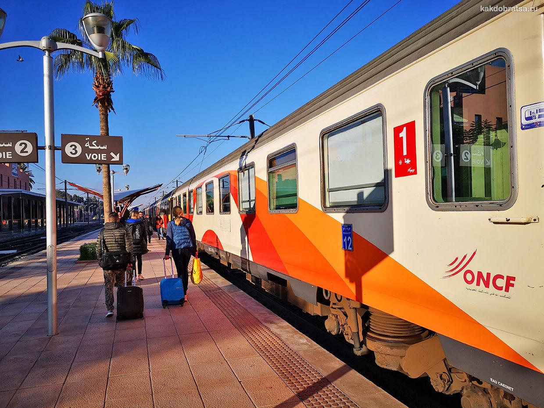 Поезд в Марракеше