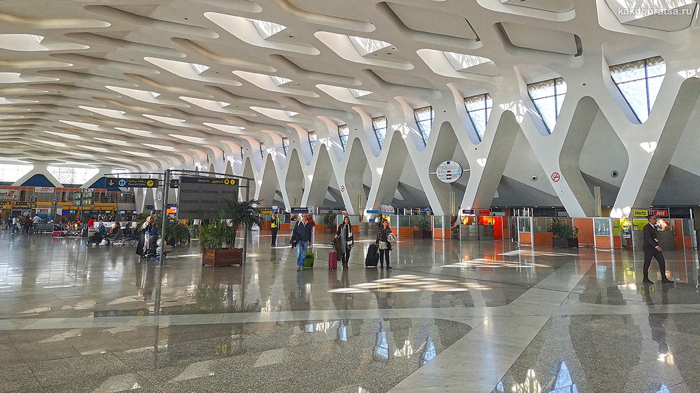 Аэропорт Марракеша как добраться