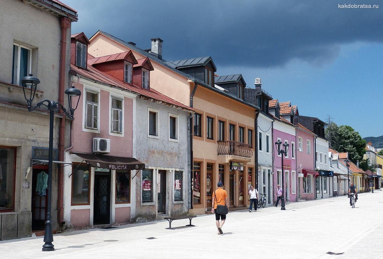 Цетине город в Черногории