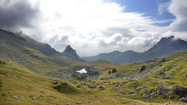 Дурмитор Национальный парк что посмотреть в Черногории
