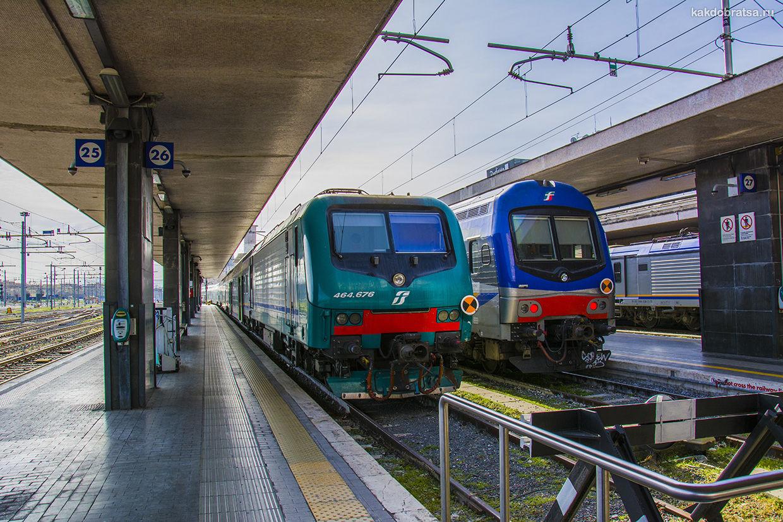 Как добраться до Италии на поезде