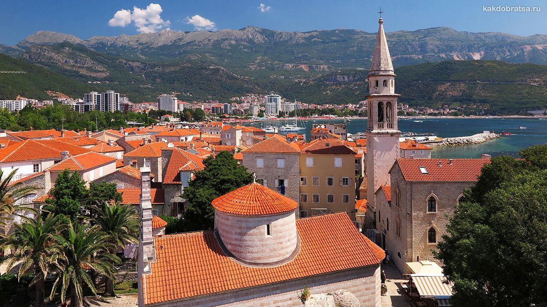 Маршрут путешествия по Черногории