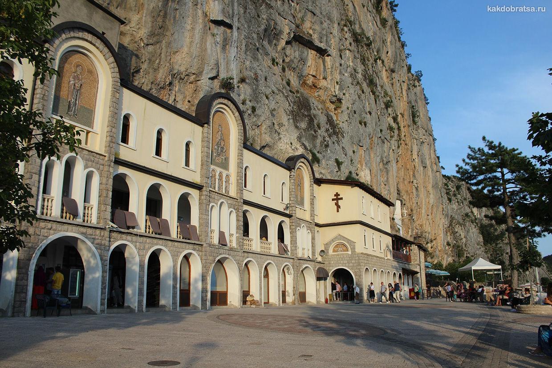 Монастырь Острог места для фото в Черногории