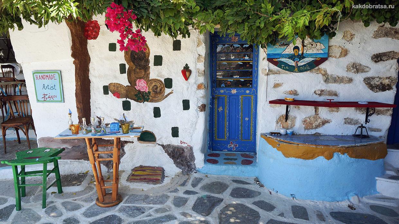 Аморгос уединенный остров в Греции