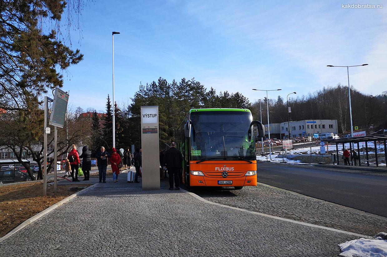 Автобус Из Праги в Чешский Крумлов