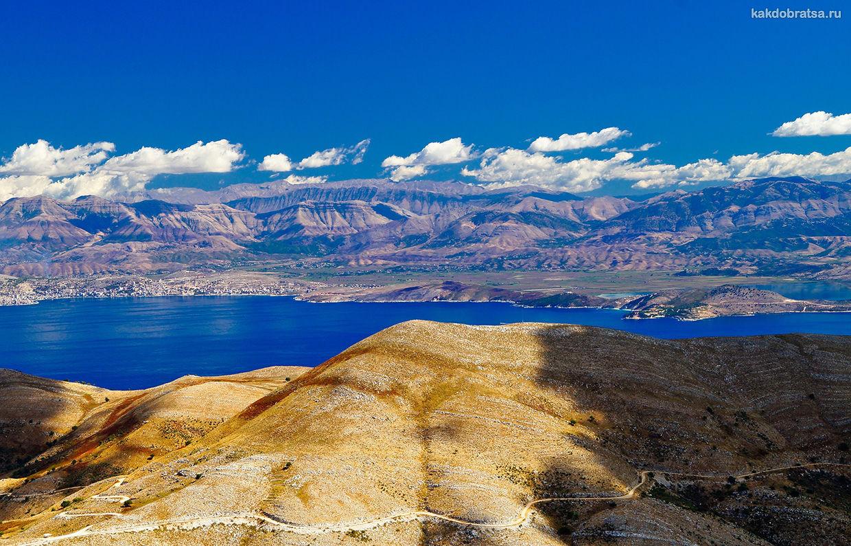 Корфу остров в Ионическом море