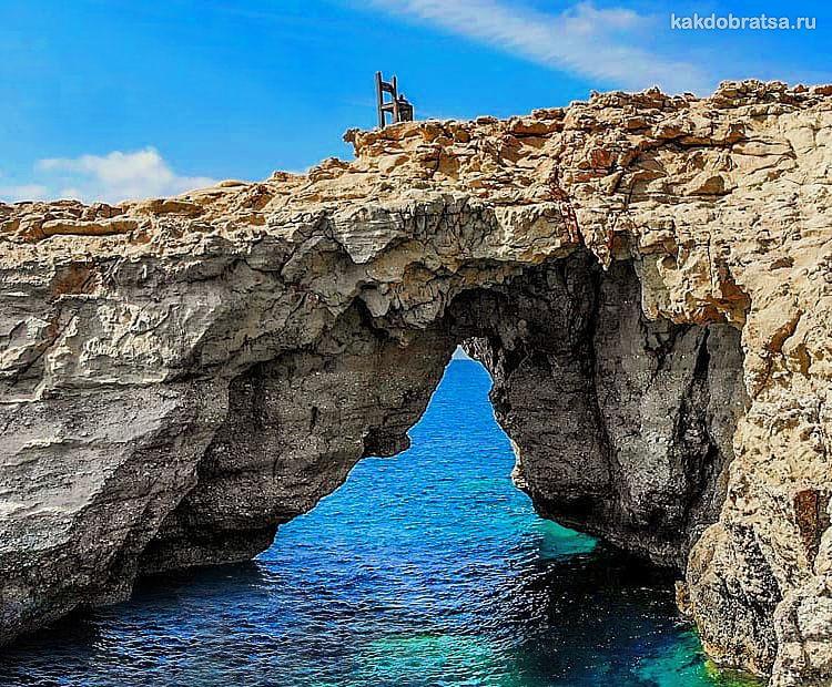 Гавдос остров в Греции самая южная точка Европы