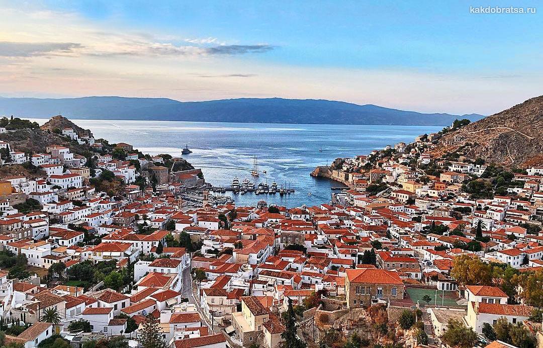Идра уединенный остров Греции
