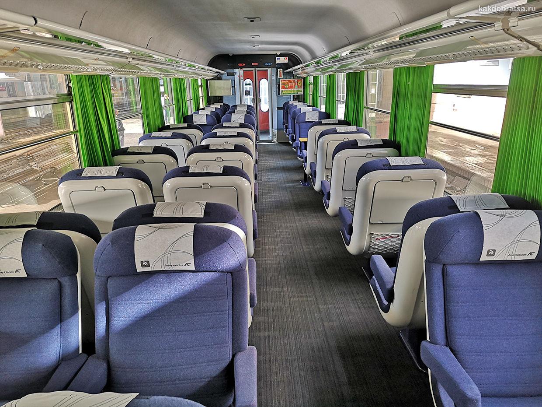 Португалия поезд вагон 1 класс