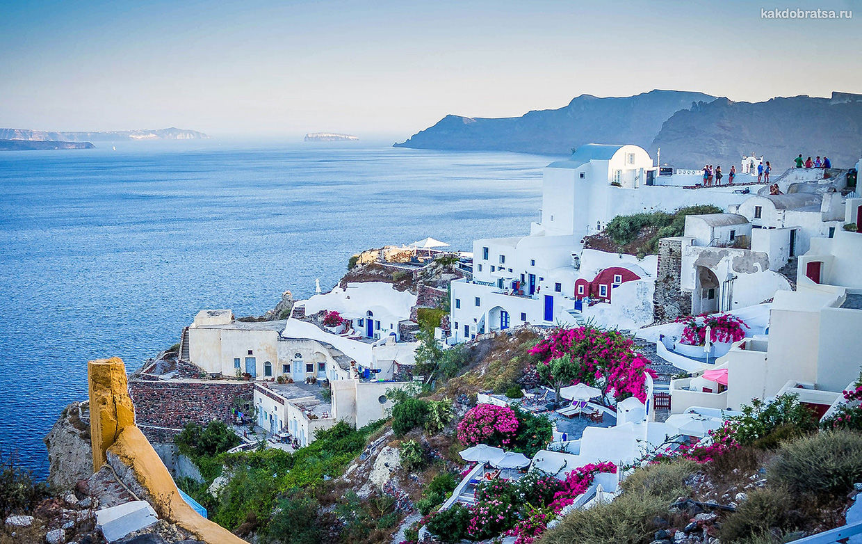 Санторини лучший остров Греции