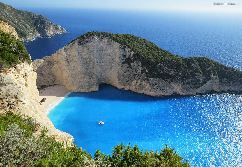 Закинф остров куда поехать в Греции