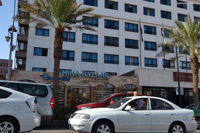 Акаба город в Иордании
