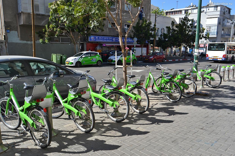 Велосипеды в Тель-Авиве