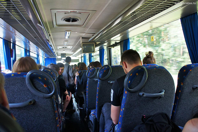 Автобус в Кракове, Польше