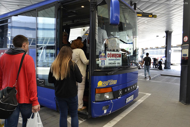Автобус в Освенцим