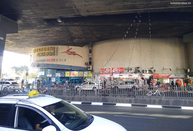 Центральный автовокзал в Тель-Авиве