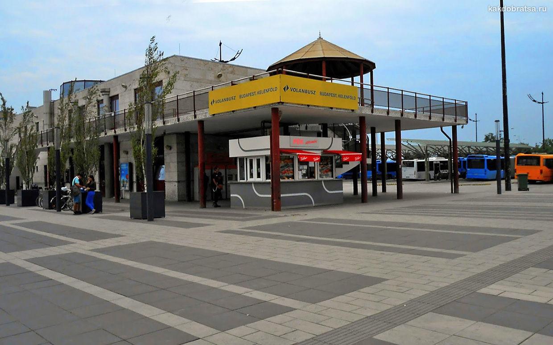 Автовокзал Келенфельд в Будапеште