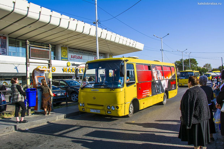 Тбилиси маршрутка
