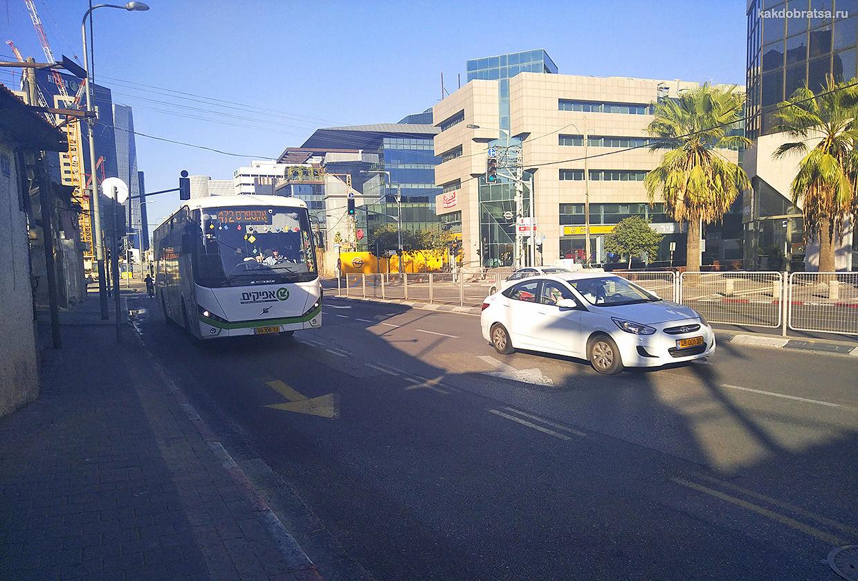 Городской общественный транспорт в Тель-Авиве