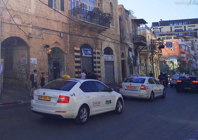 Такси монит в Тель-Авиве