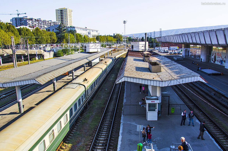 Из Тбилиси в Баку поезд время в пути, стоимость проезда