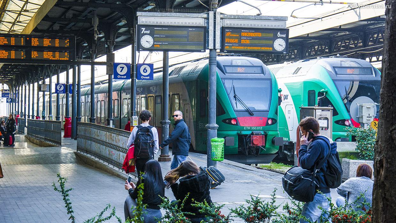 Центральный железнодорожный вокзал Болоньи