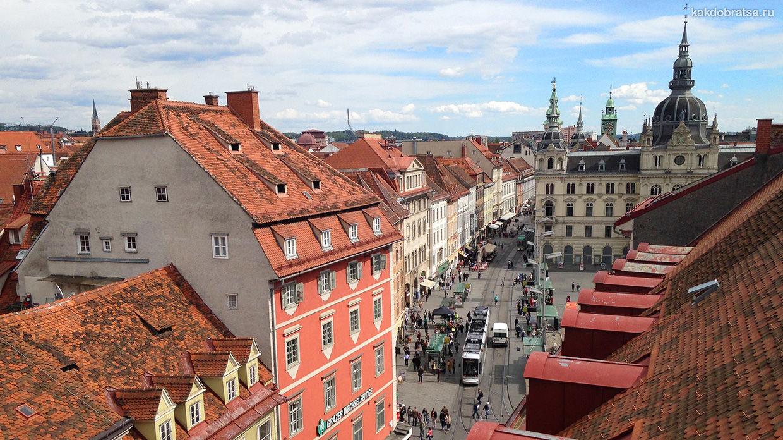 Как добраться из Вены в Грац