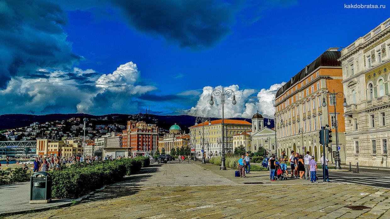 Как добраться из Вены в Триест