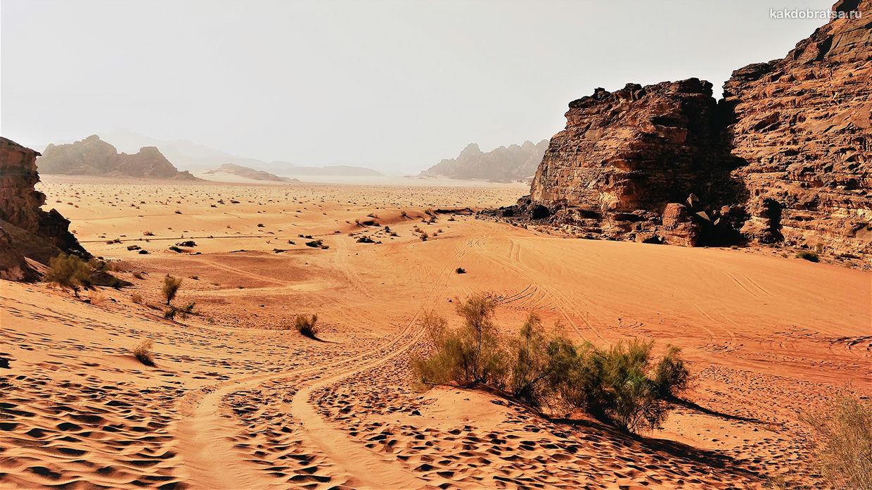 Дорога из Вади-Рам в Акабу (Иордания) Отзыв туриста