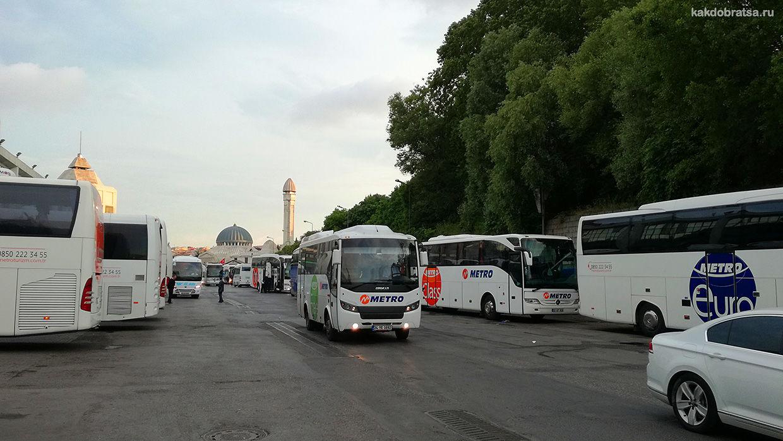 Междугородний и международный автобус в Стамбул