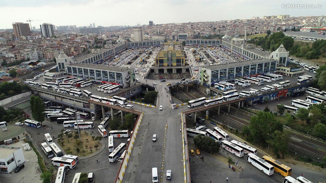 Центральный Автовокзал Стамбула Байрампаша Отогар