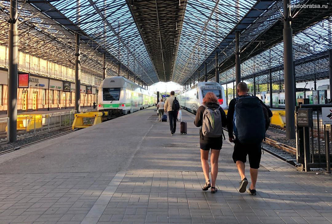 Центральный автовокзал Хельсинки