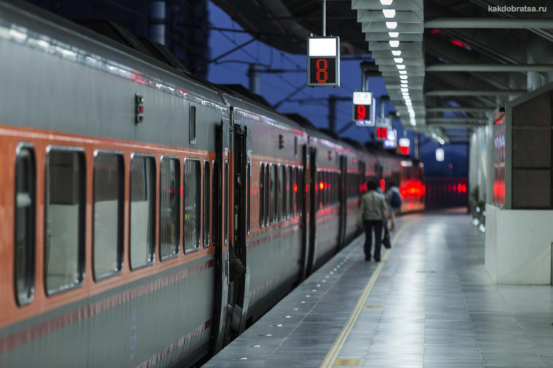 Москва Рига поезд