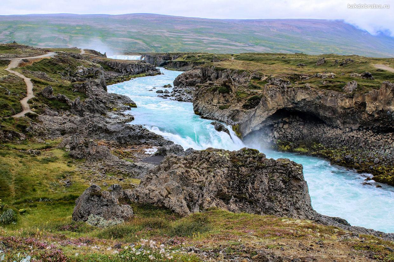 Север Исландии интересные места