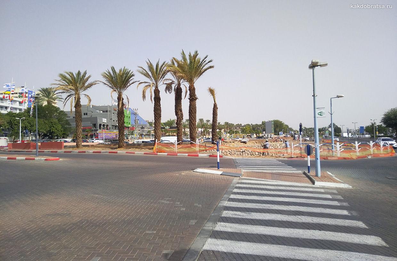 Пешеходный переход в Израиле